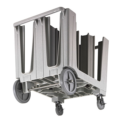 Cambro S-Series Adjustable Dish Caddy - Dark Brown ADCS131 2
