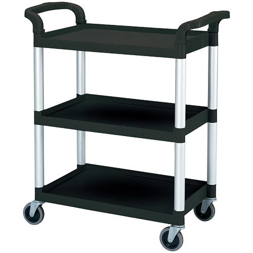 Cambro KD Service Cart - Black BC331KD110