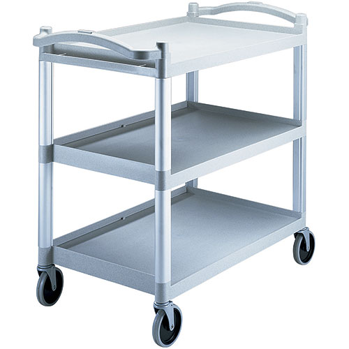 Cambro KD Utility Cart - Speckled Gray BC340KD480