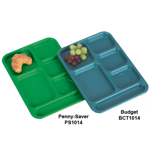 Cambro Budget School Compartment Tray -  Tan BCT1014161