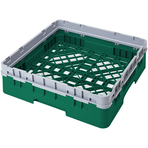 Cambro Camrack® Full Base Rack - 1 Extender Sherwood Green BR414119