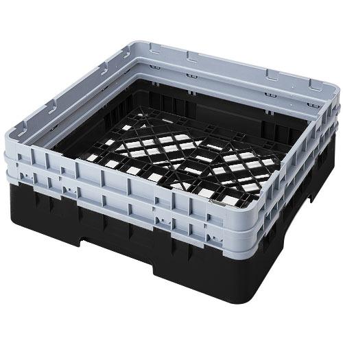 Cambro Camrack® Full Base Rack - 2 Extenders Black BR578110