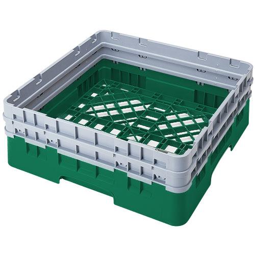 Cambro Camrack® Full Base Rack - 2 Extenders Sherwood Green BR578119