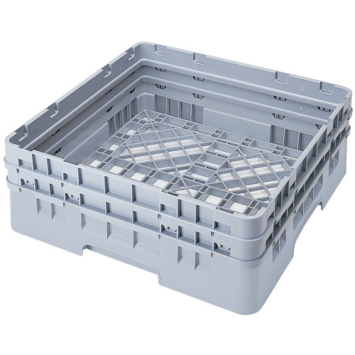 Cambro Camrack® Full Base Rack - 2 Extenders Soft Gray BR578151