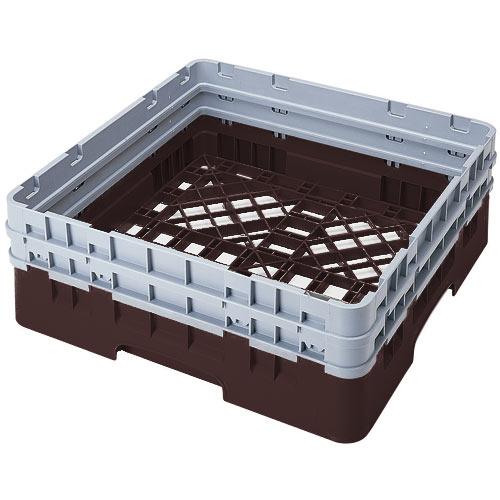 Cambro Camrack® Full Base Rack - 2 Extenders Brown BR578167