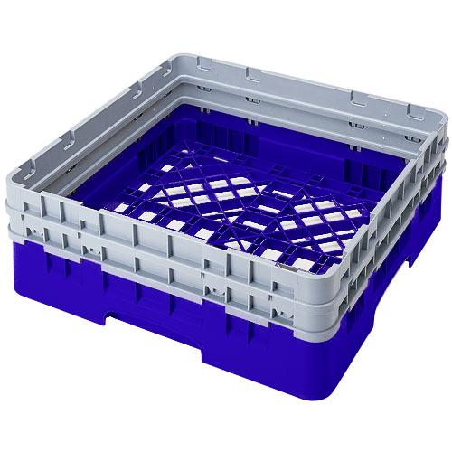 Cambro Camrack® Full Base Rack - 2 Extenders Blue BR578168