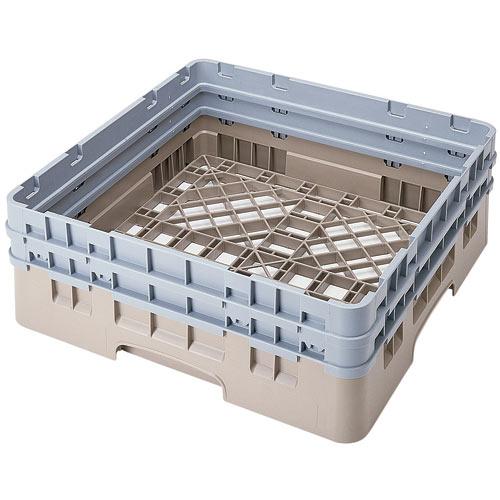 Cambro Camrack® Full Base Rack - 2 Extenders Beige BR578184