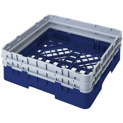 Cambro Camrack® Full Base Rack - 2 Extenders Navy Blue BR578186