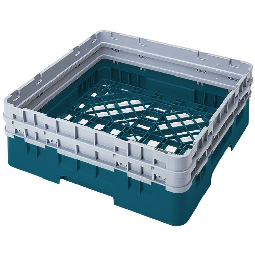 Cambro Camrack® Full Base Rack - 2 Extenders Teal BR578414