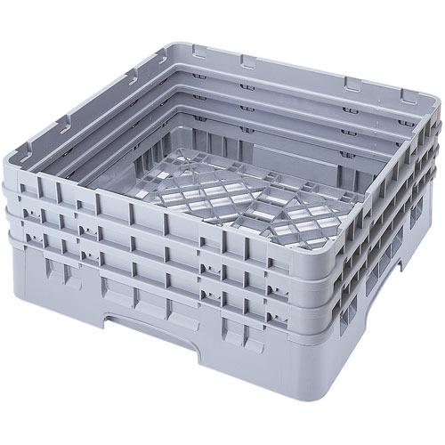 Cambro Camrack® Full Base Rack - 3 Extenders Soft Gray BR712151