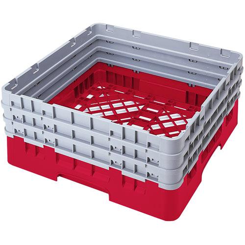 Cambro Camrack® Full Base Rack - 3 Extenders Red BR712163
