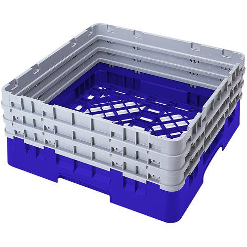 Cambro Camrack® Full Base Rack - 3 Extenders Blue BR712168
