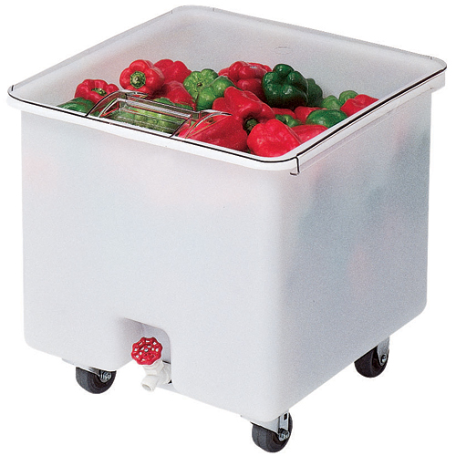 Cambro Camcrisper Mobile Vegetable Crisper- 32 gal CC32148