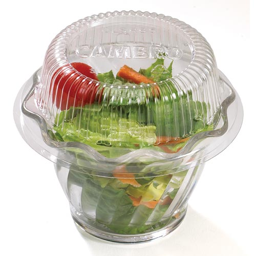 Cambro CamLids® Disposable Swirl Bowl Lids - Fits SRB5CW, SRB5 CLSRB5152