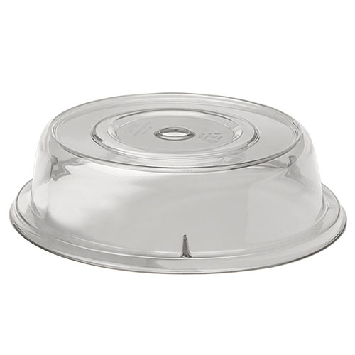 "Cambro Round Camwear® Polycarbonate Camcovers® 9 5/16"" - Clear 901CW152"