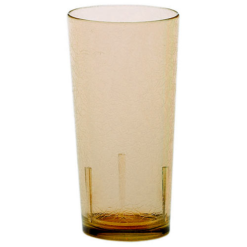 Cambro Del Mar Stackable Tumblers 36/PK - Light Amber 16 oz D16609