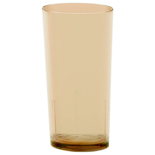 Cambro Del Mar Stackable Tumblers 36/PK - Light Amber 24 oz D24609