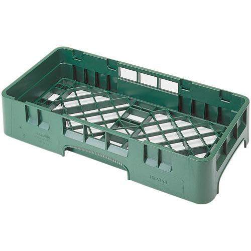 Cambro Camrack® Half Base Rack - Sherwood Green HBR258119