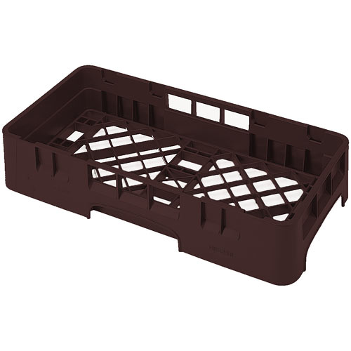 Cambro Camrack® Half Base Rack - Brown HBR258167