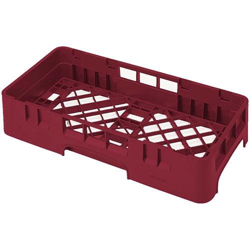 Cambro Camrack® Half Base Rack - Cranberry HBR258416
