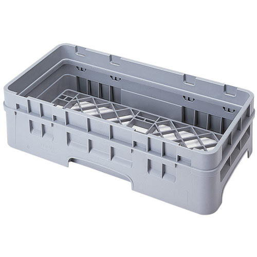 Cambro Camrack® Full Base Rack - 1 Extender Soft Gray HBR414151
