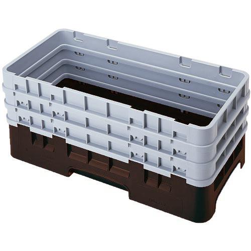 Cambro Camrack® Half Base Rack - 3 Extenders Brown HBR712167