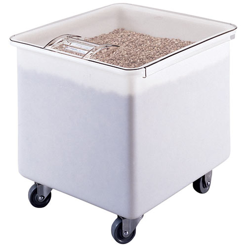 Cambro Mobile Ingredient Bin w/ Flat Top - 32 gal IB32148