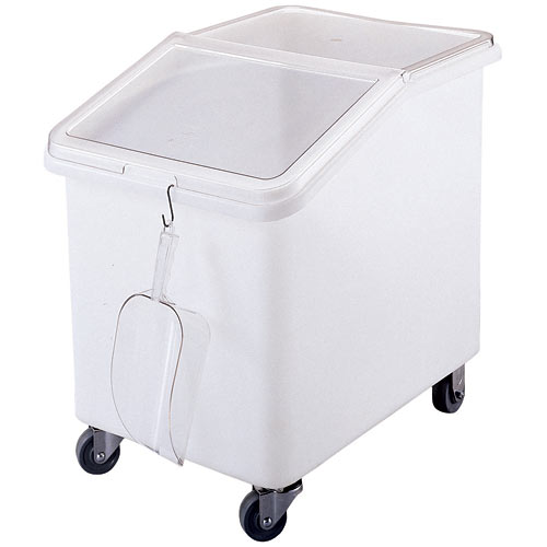 Cambro Mobile Ingredient Bin w/ Slant Top - 37 gal IBS37148