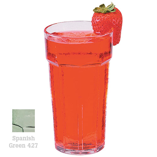 Cambro Laguna Stackable Tumblers 36/PK - Spanish Green 6 oz LT6427