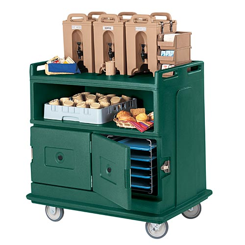 Cambro Beverage Service Cart - Molded Top Counter MDC24