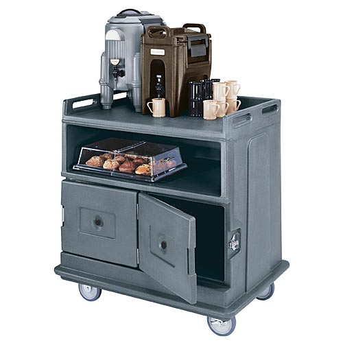 Cambro Beverage Service Cart - Flat Top Counter  MDC24F