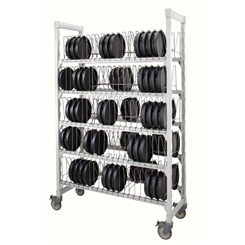 Cambro Camduction® Pellet & Base Drying & Storage Cart MDSDCPKG480