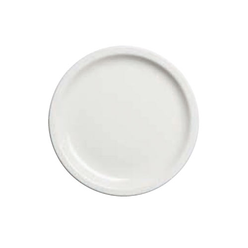Cambro Camtherm&reg; Ceramic Plate - 9&quot; Ivory MDSPLT9000