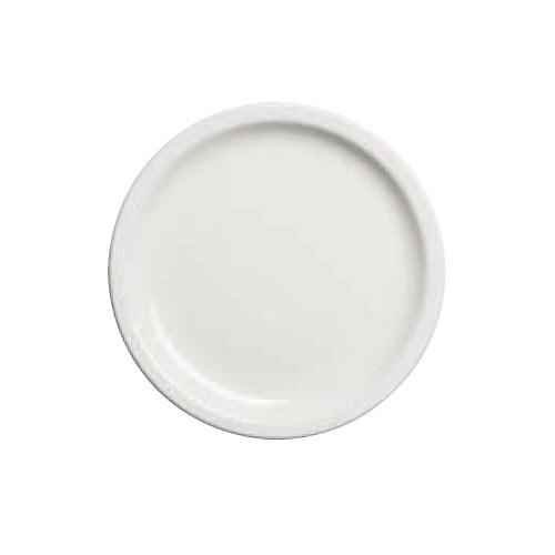 "Cambro Camtherm® Ceramic Plate - 9"" Ivory MDSPLT9000"