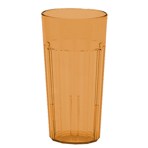Cambro Newport Stackable Tumblers 36/PK - Amber 22 oz NT20153