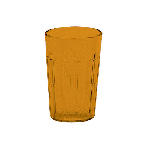 Cambro Newport Stackable Tumblers 36/PK - Amber 6.4 oz NT5153