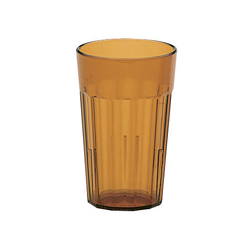 Cambro Newport Stackable Tumblers 36/PK - Amber 7.7 oz NT8153