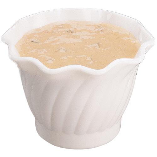 Cambro San Swirl Bowl - 5 oz White SRB5148