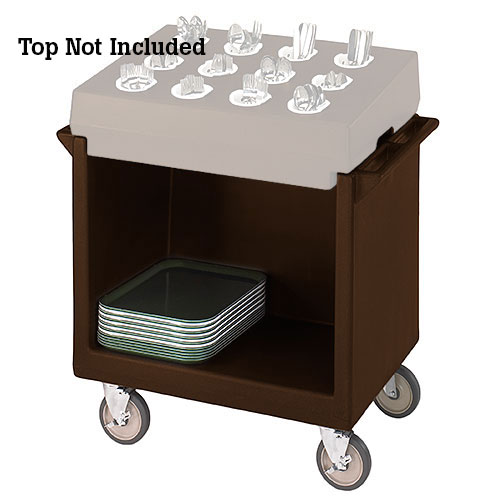 Cambro Tray & Dish Cart Only - Dark Brown TDC2029131