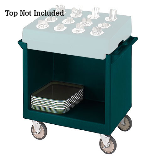 Cambro Tray & Dish Cart Only - Granite Green TDC2029192