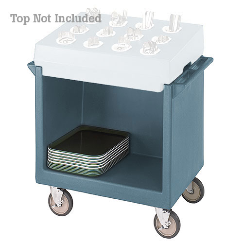 Cambro Tray & Dish Cart Only - Slate Blue TDC2029401