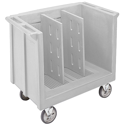 Cambro Adjustable Tray & Dish Cart - Gray TDC30180