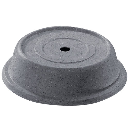 "Cambro Round Versa Camcovers® 9 11/16"" - Granite Gray 911VS191"