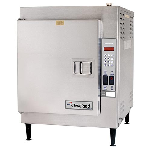 Cleveland Steamcraft Ultra 5 Countertop Electric Convection Steamer   5 Pan  21CET16