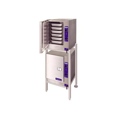 Cleveland SteamChef 6 Stacked Boilerless Convection Steamer 2 22CET66.1
