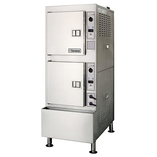 Cleveland Gemini 10 Convection Steamer With Gas Generator 24CGA10.2