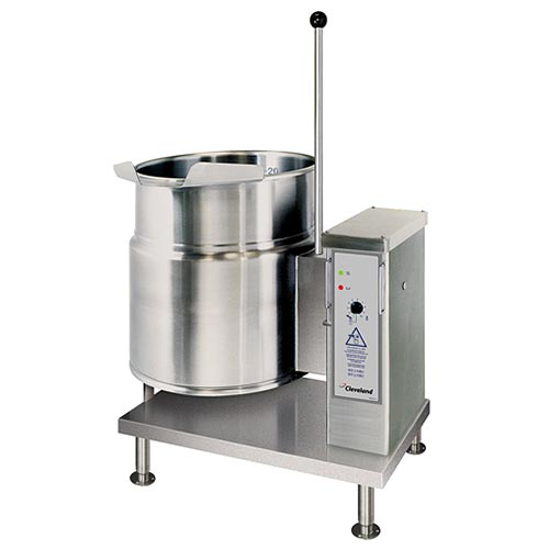 Cleveland ELECTRIC KETTLES, 20 GALLONS, TILTING KET-20-T