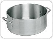 Aluminum Braziers<br />15 qt