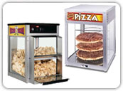 Heated Pizza Display Cabinets