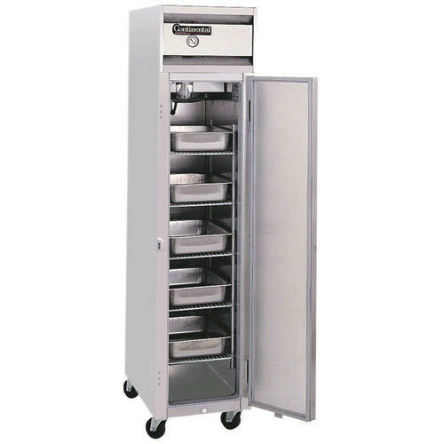 Continental Refrigerator Value Line Standard Slim Line Reach-In Refrigerators - 1 section 1RSE